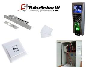paket akses kontrol 1 pintu zkteco-f18