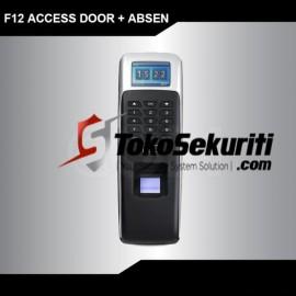 Paket Murah Akses Door + Absen ZKTeco F12