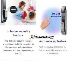 Samsung Smart Door Lock SHS-718